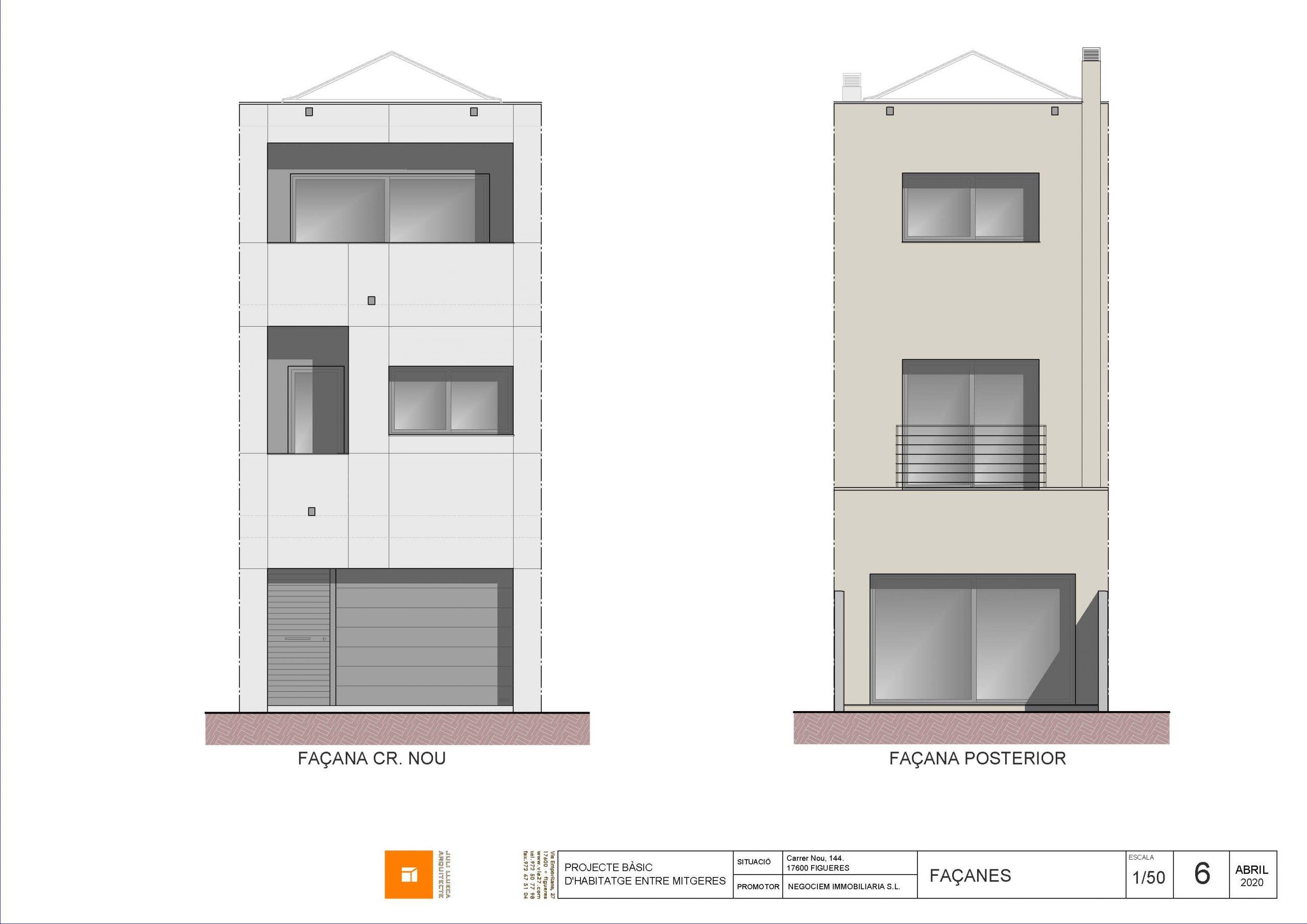 """""""Venta casa en construcción carrer Nou de Figueres"""""""