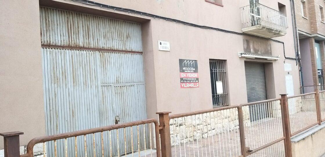 Solar para construir PB + 3 en la Ctra. de Olot, Figueres
